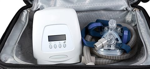 Traveling with Your CPAP Machine | Blog | Bridge to Better Living