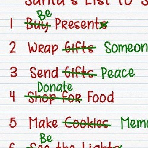 Santa's List to Seniors | Guidance Corner | Bridge to Better Living