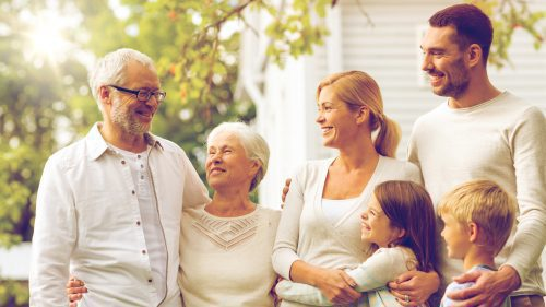 bridge to better living of northern Kentucky- Family with seniors